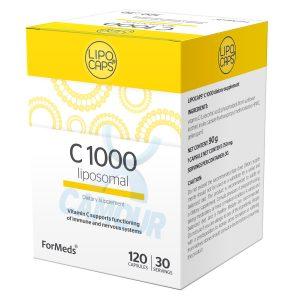 Lipo Caps Liposomal C 1000 Vitamin C 1000mg Dietary Vegan Supplement 360 Capsules